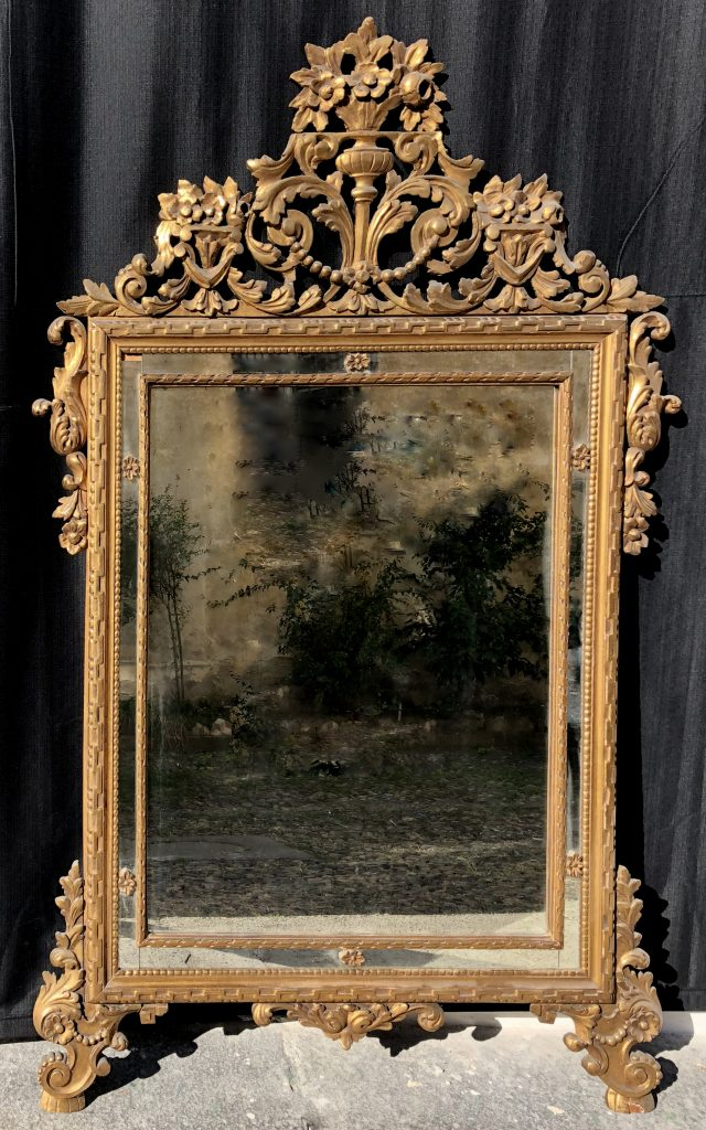 Louis XVI mirror - Contact for price