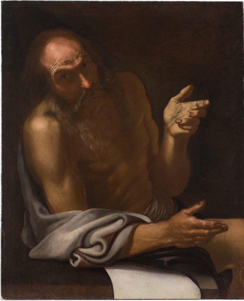 Filosofo - olio su tela - Contattare per il prezzo