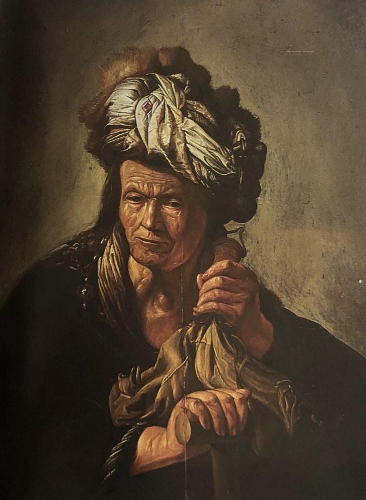 Ritratto d'uomo- olio su tavola - Contattare per il prezzo