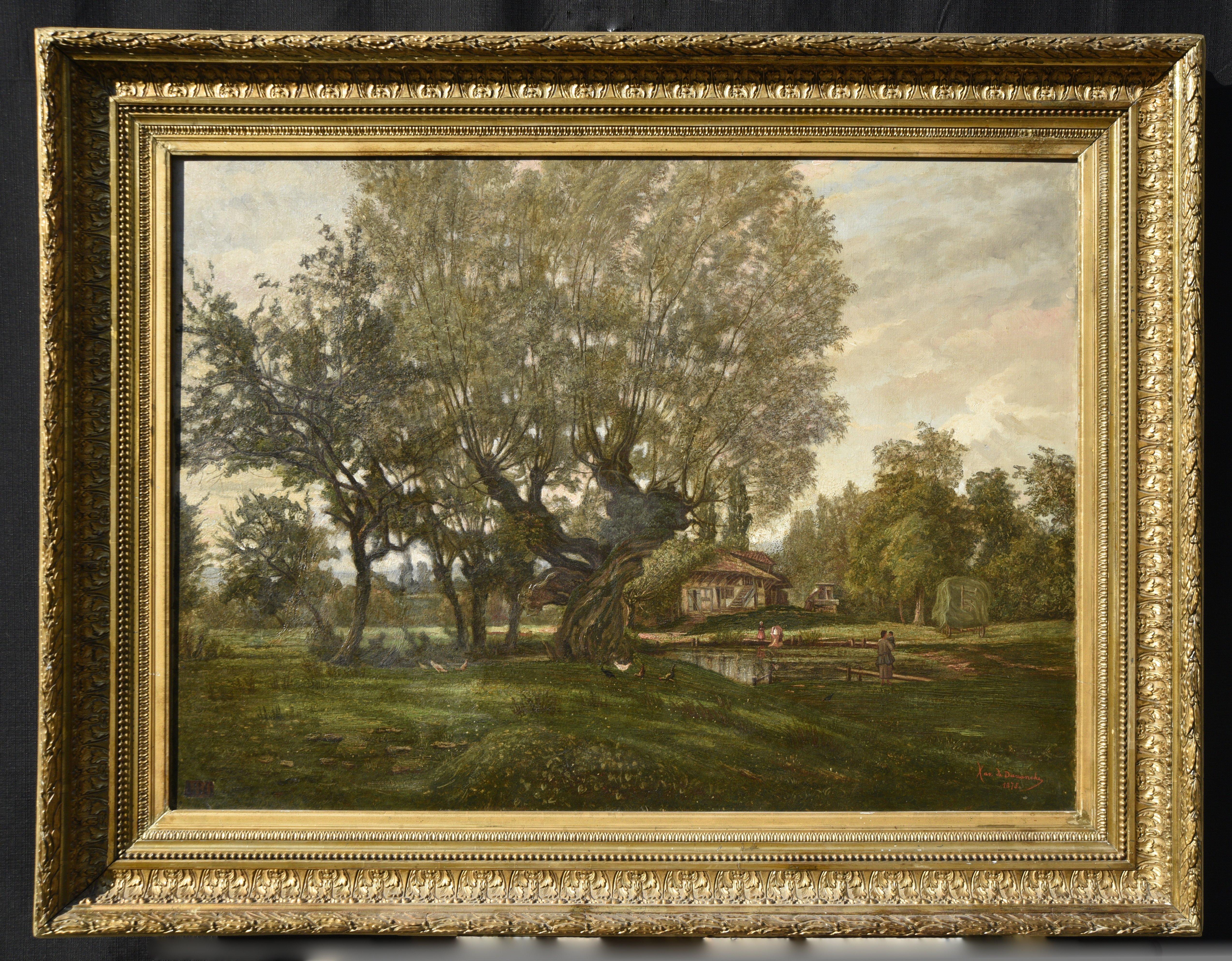 Paesaggio inglese - olio su tela - Contattare per il prezzo