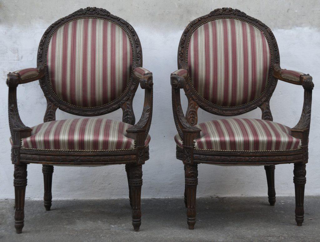 Poltrone Luigi XVI - Contattare per il prezzo