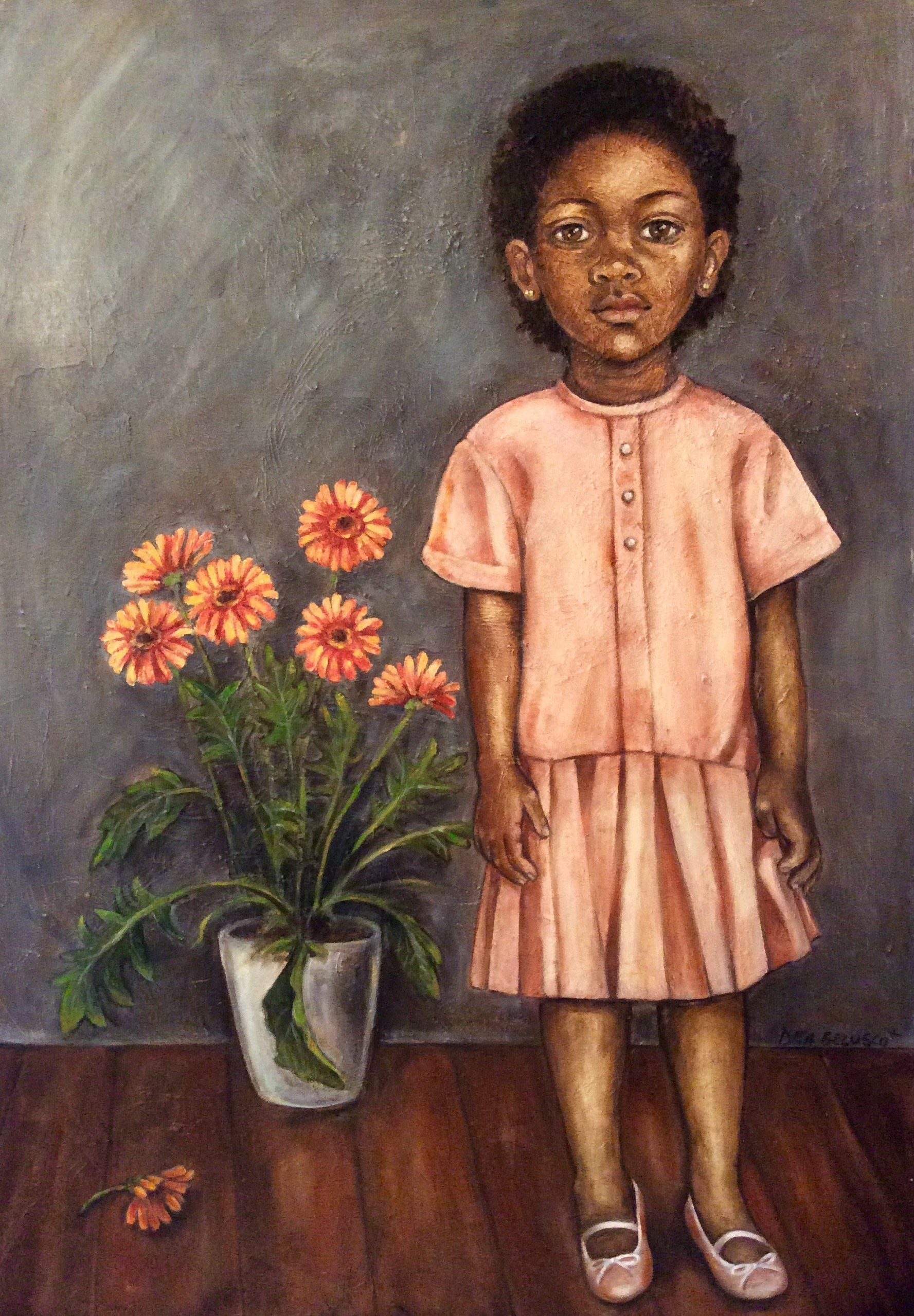 Matilda - oil on canvas - Contact for price