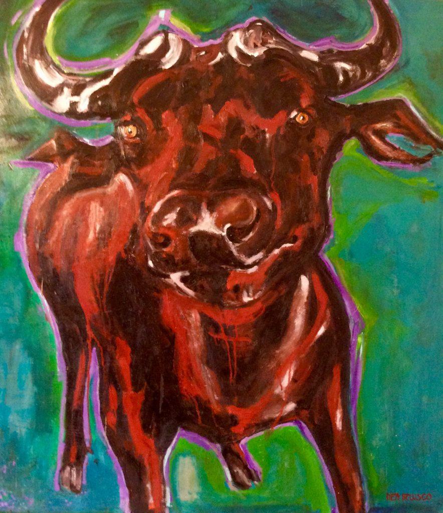 Toro - olio su tela - Contattare per il prezzo