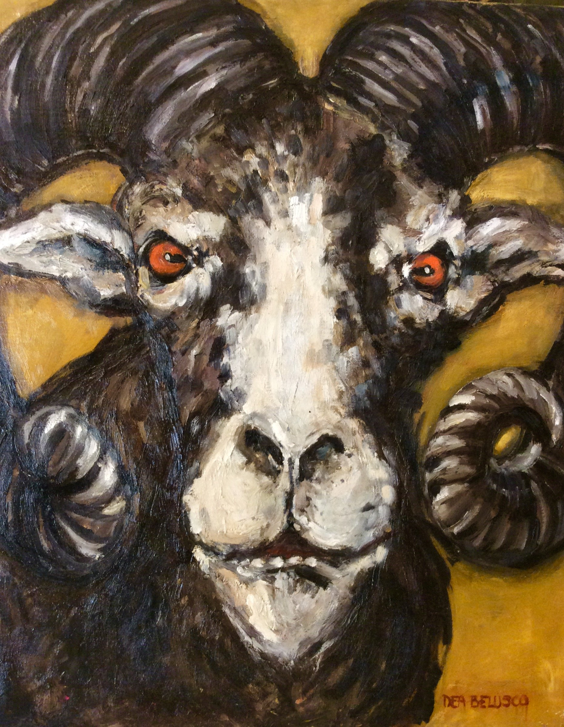 Aries - Oil on canvas - Contact for price