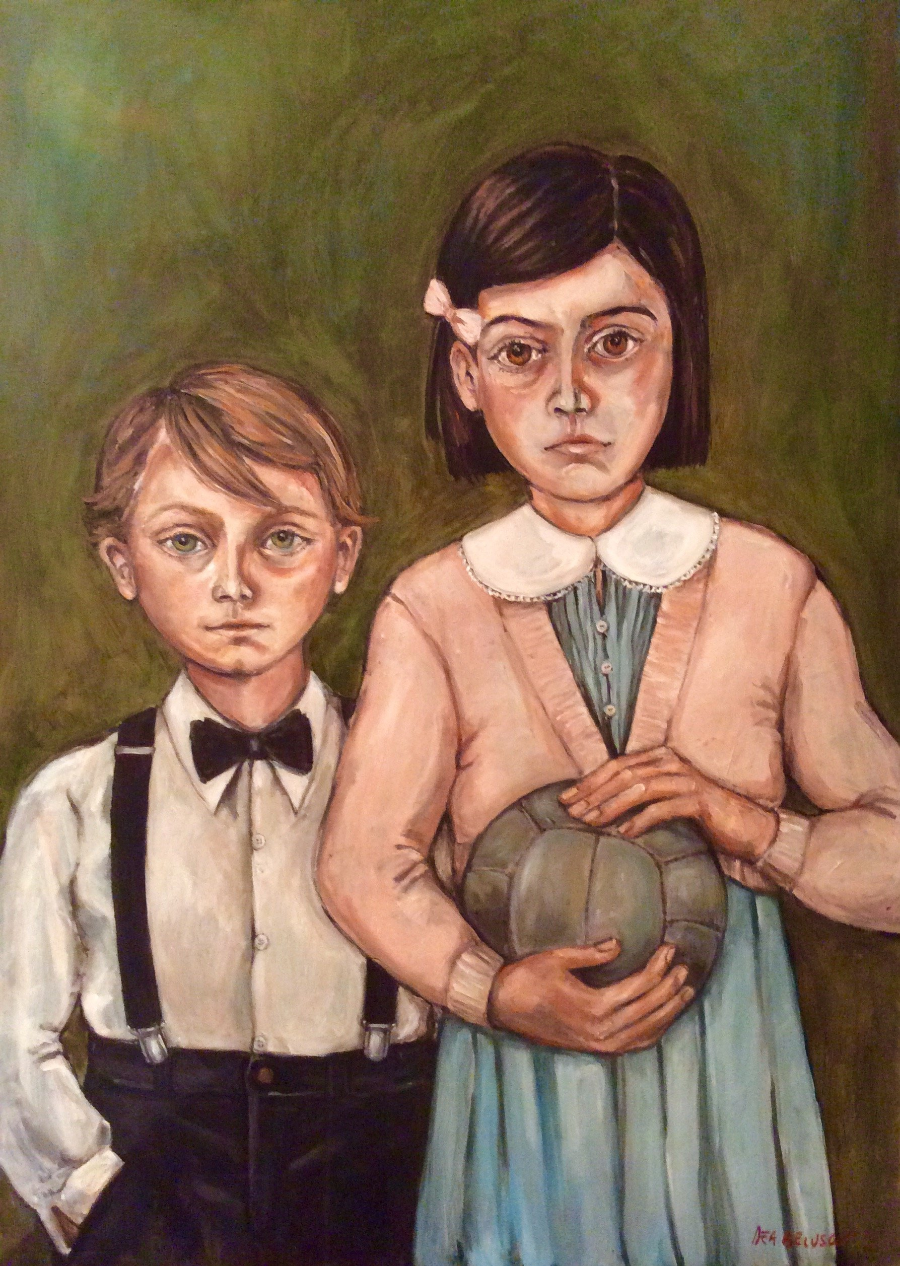 Brothers - oil on canvas - Contact for price