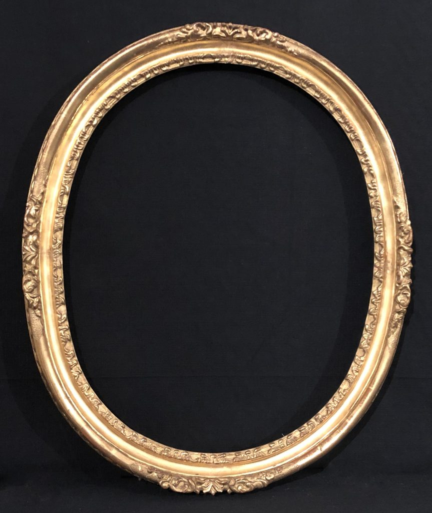 Oval frame of 700 - Contact for price