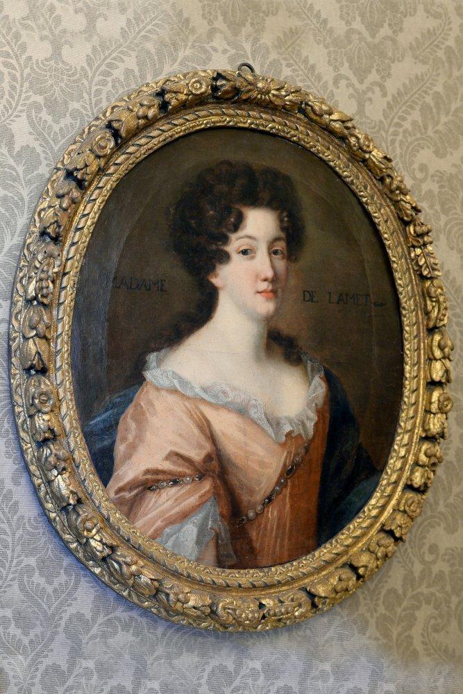 cod. D 129 - Ritratto di Madame De Lamet -olio su tela - Contattare per il prezzo