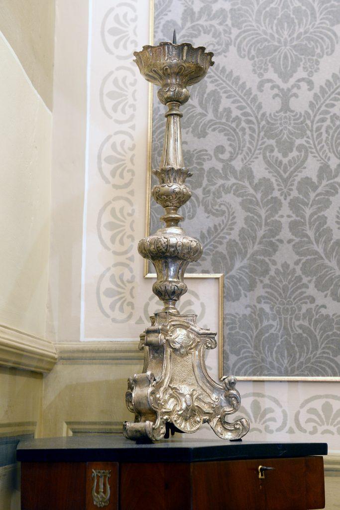 Candeliere argento del 700 - Contattare per il prezzo