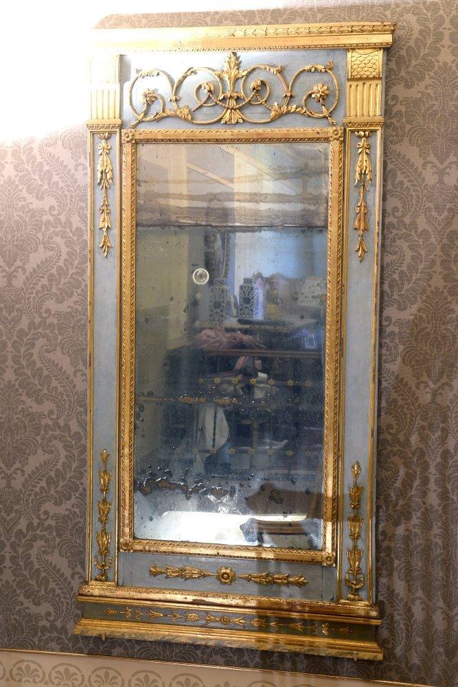 Specchiera neoclassica - fine XVIII secolo - Contattare per il prezzo