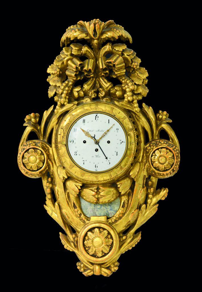 Pendola Cartel Dorata XVIII-XIX secolo