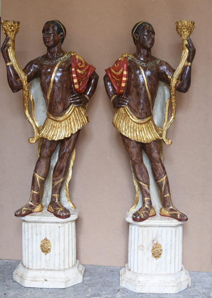 Coppia Di Cornucopie in Stile Luigi XVI