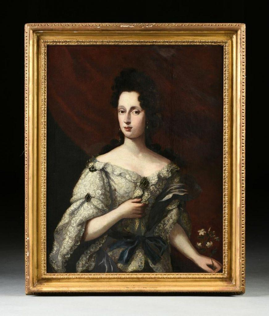 Regina Maria di Modena atelier di Nicolas de Largilliere