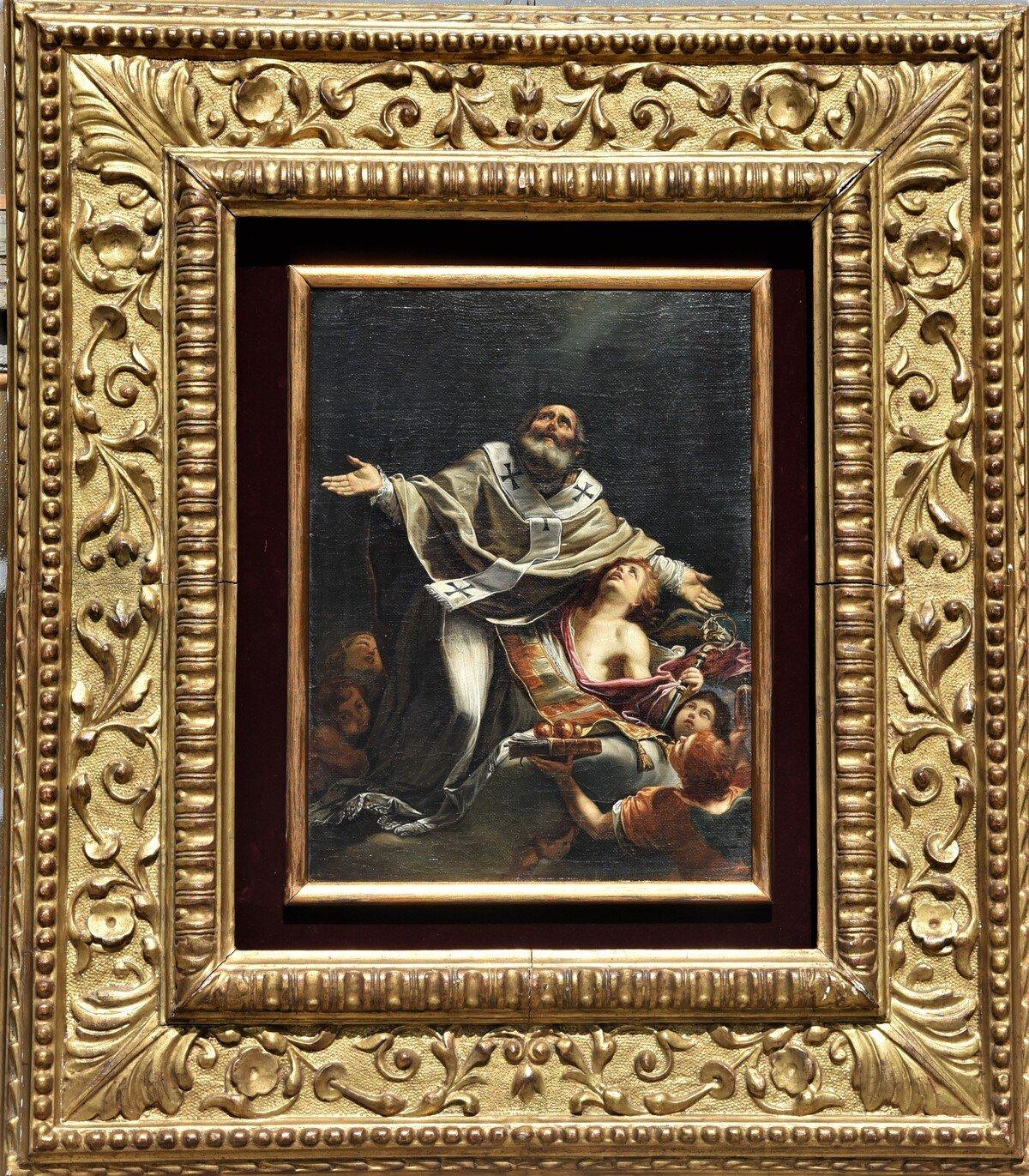 Antico dipinto scuola italiana inizio del XVIII secolo