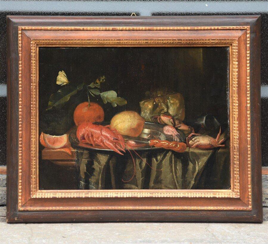 Antico dipinto del 1600 maestro della scuola fiamminga