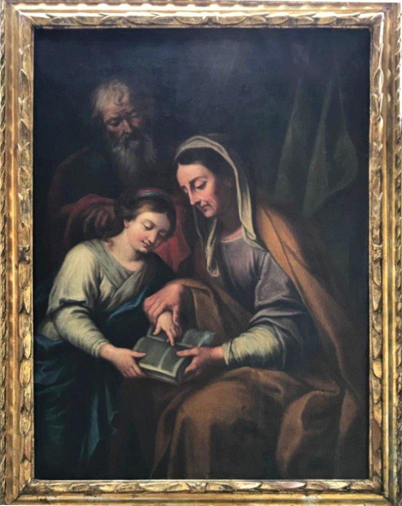 La Madonna che insegna a Gesù a leggere