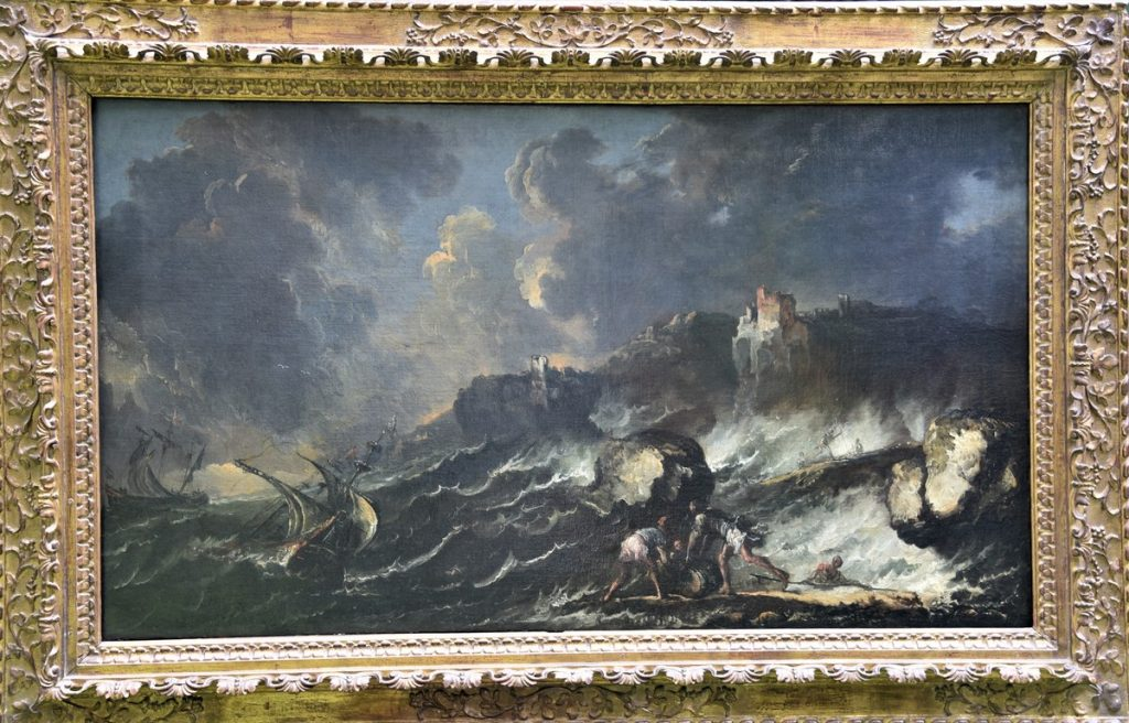 Antico Dipinto del 1600 - Marina