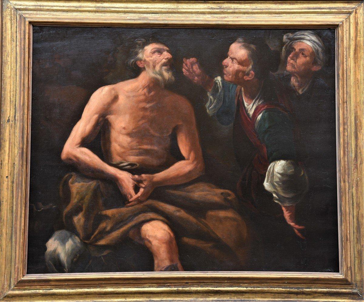 Antico dipinto del 1600